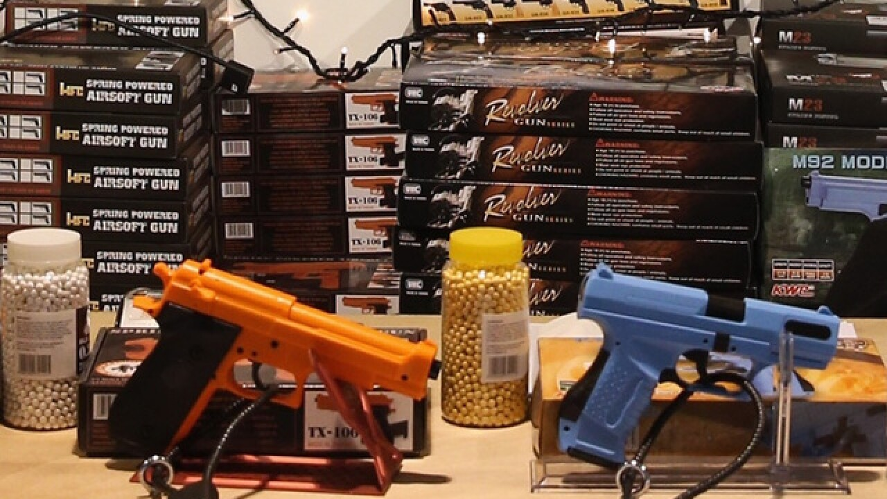 'Toy' firearm ban: Iowa city council gives final approval