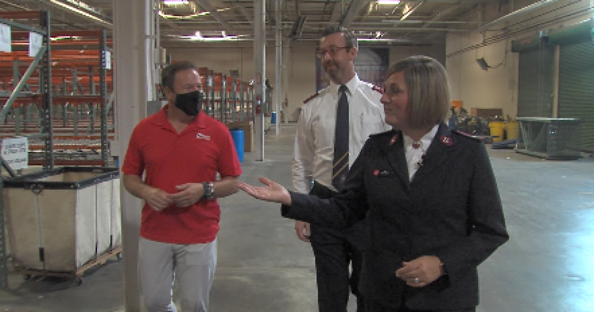 Couple carries family tradition of helping others to Tulsa Salvation Army