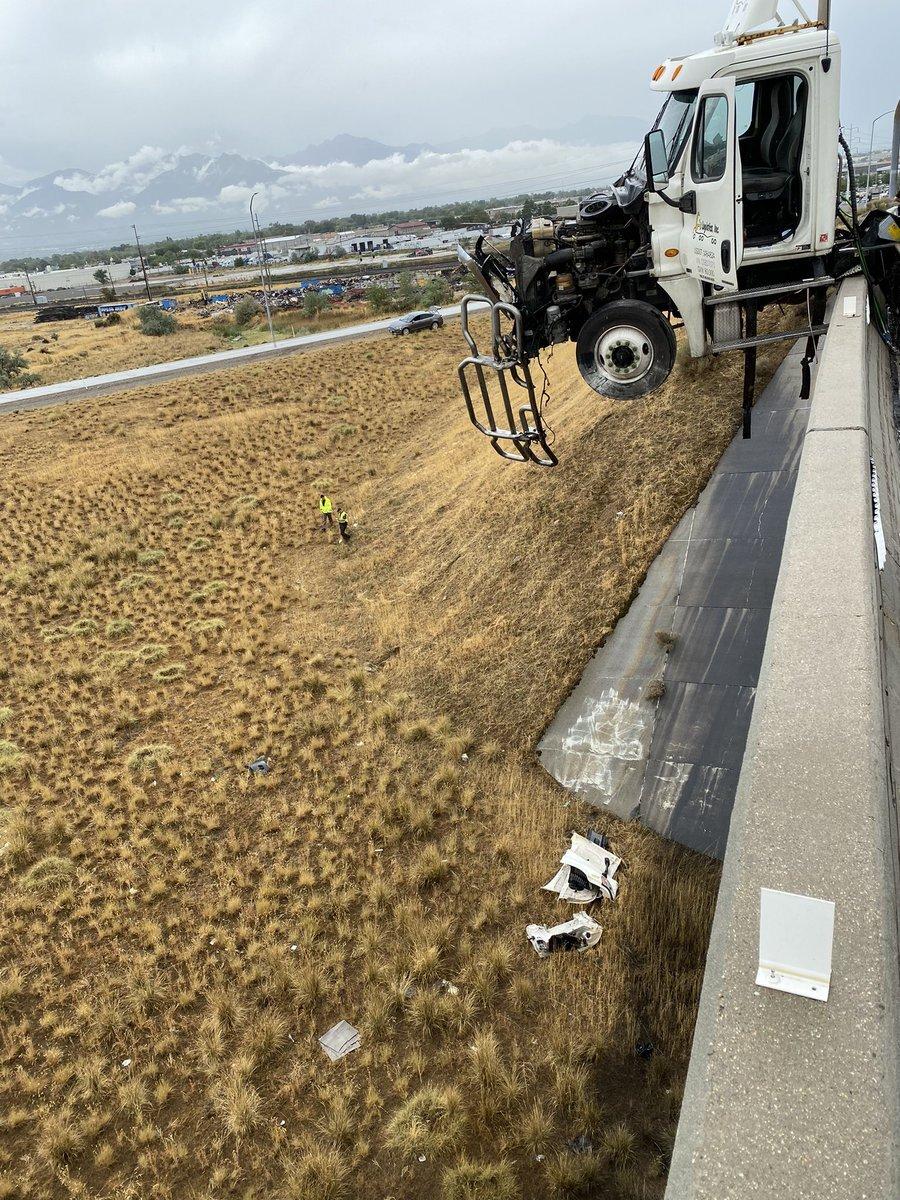 I-215 Truck Accident