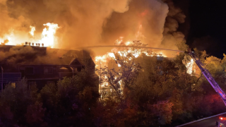 Boulder fire on Pearl Street Oct 19 2021