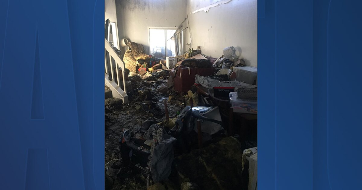 Family loses home to fire caused by lightning