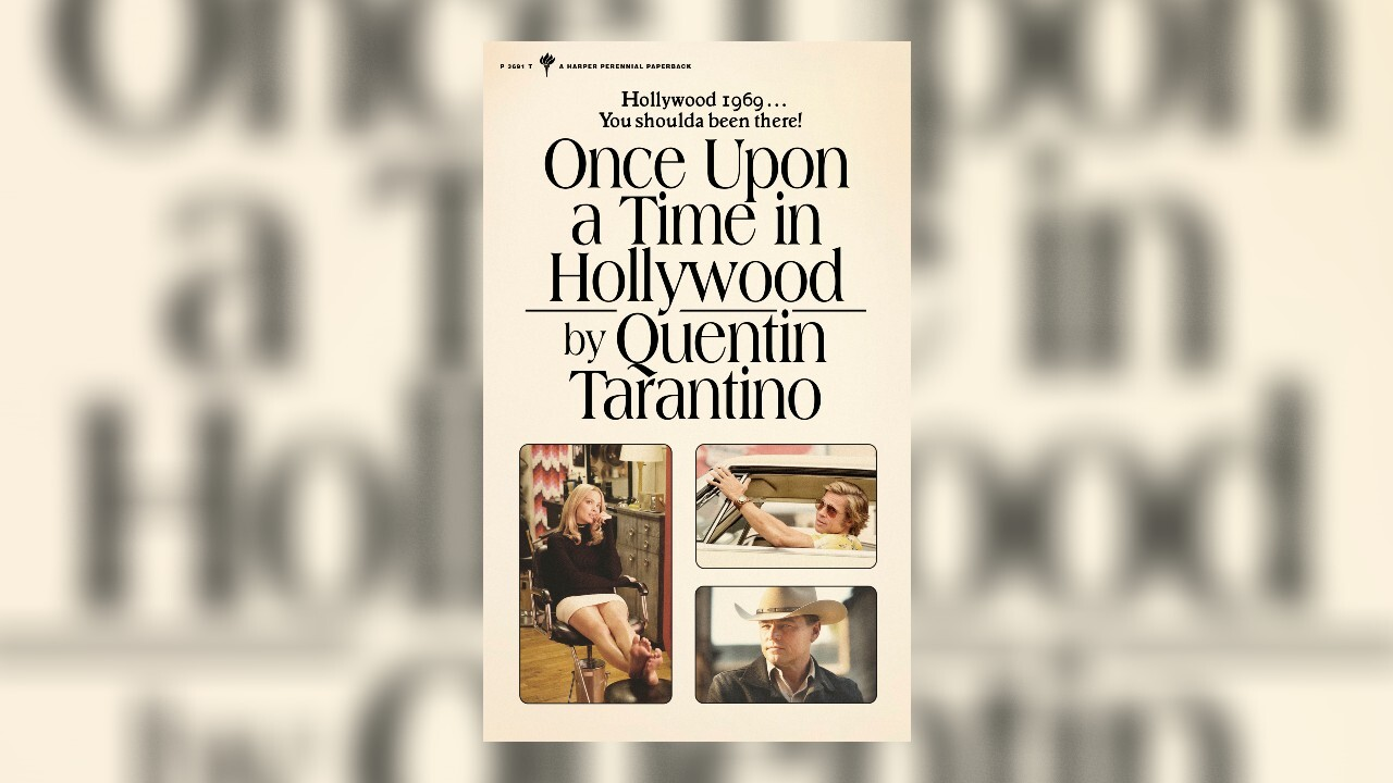 Quentin Tarantino turning his Oscar-winning movie 'Once Upon a Time in Hollywood' into a book