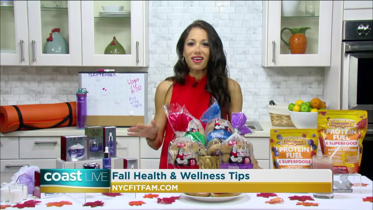 Tips for staying healthy during the busy fall season on Coast Live