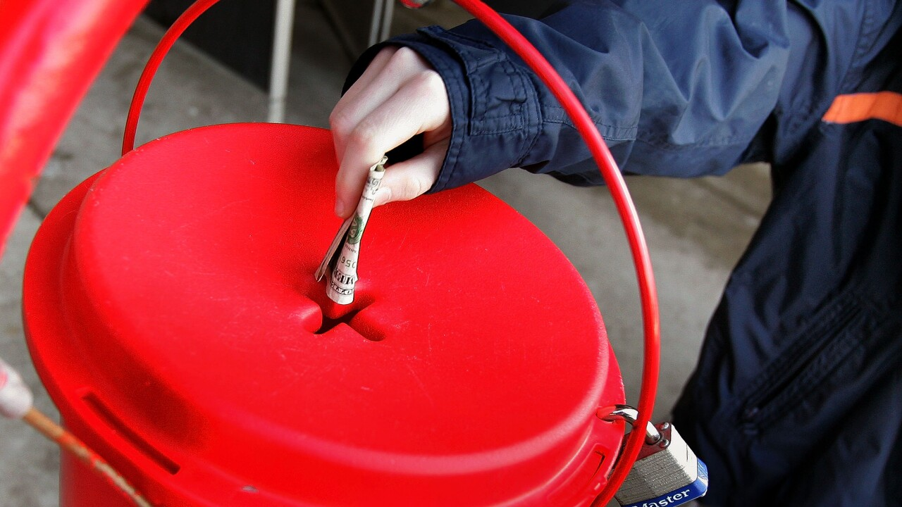 Give back this holiday season and donate at Salvation Army Red Kettlelocations