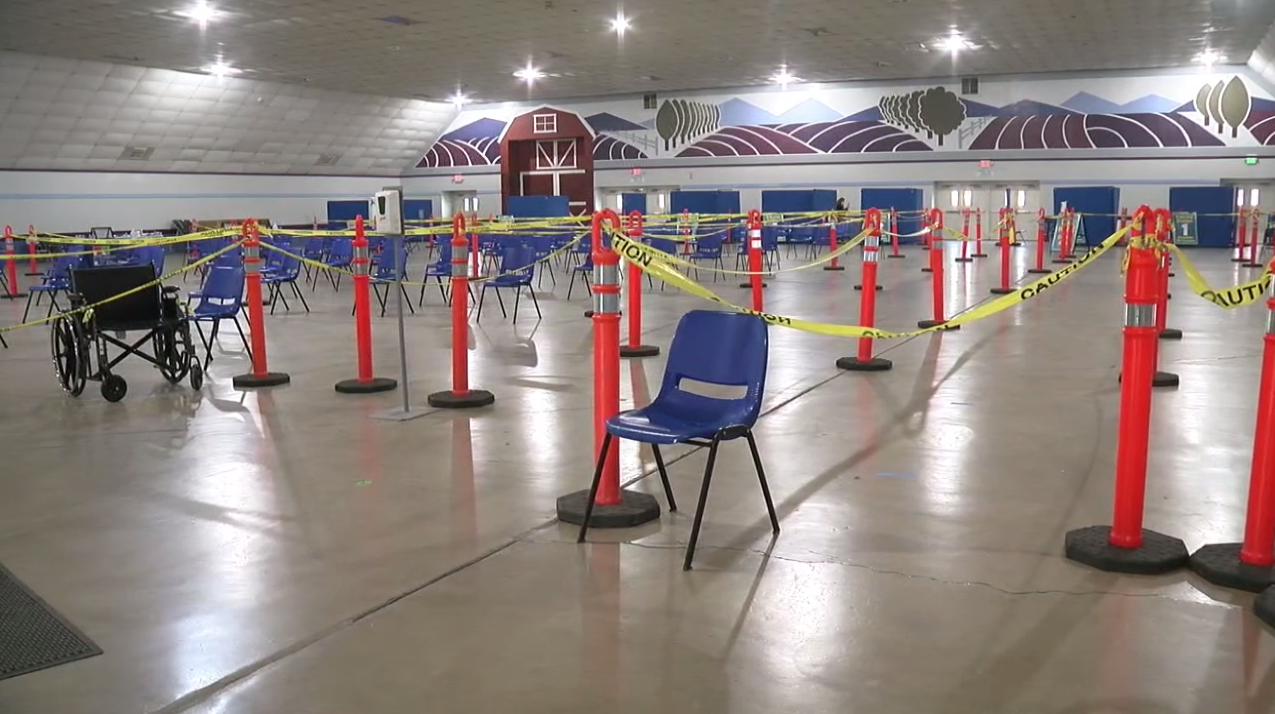 Kern County Fairgrounds Mass Vaccination Site