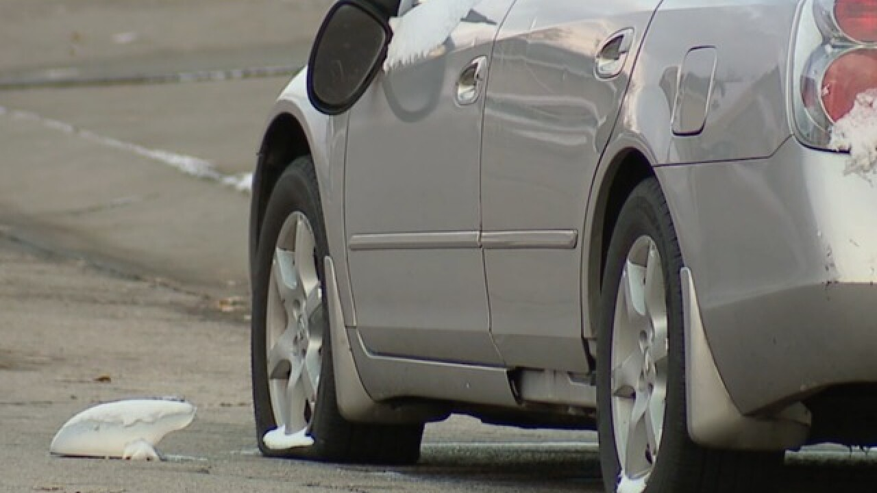Tires slashed, mirrors broken on 30 cars in Liberty overnight