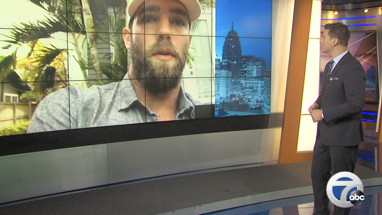 Tigers pitcher Daniel Norris joins WXYZ to talk coronavirus impact on baseball