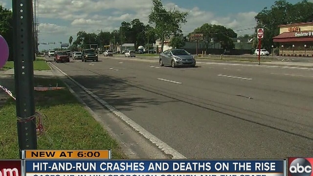 Hit-and-run crashes and deaths on the rise
