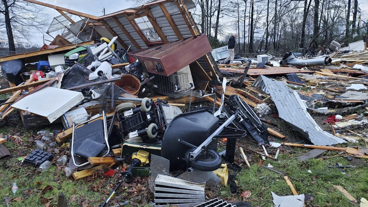 Severe Storms Louisiana