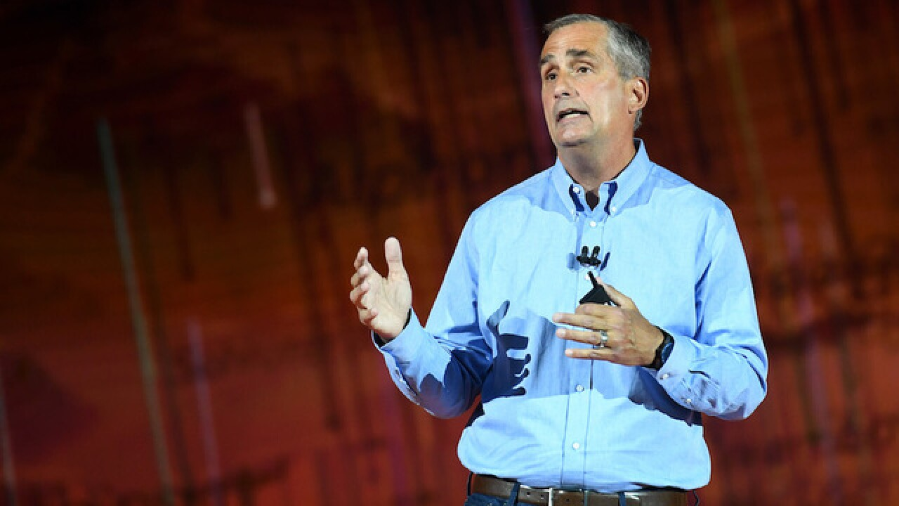 Intel CEO Brian Krzanich resigns after 'past consensual relationship' with employee
