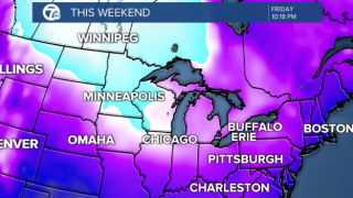 Cold air and an open Lake Erie could make for significant lake effect snow this weekend.