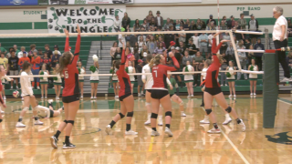 Bozeman Hawks volleyball soars past Belgrade Panthers with sweep