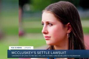 Lauren McCluskey's parents reach settlement with U of U
