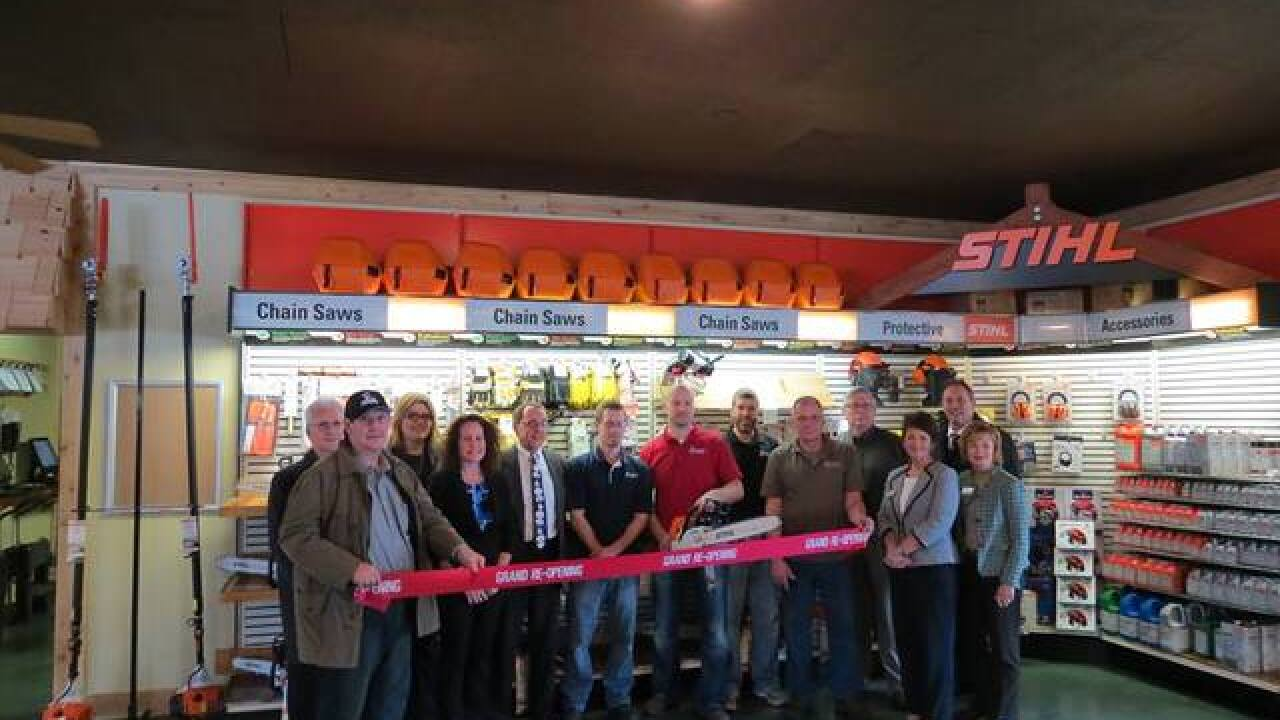 Superior Saw ribbon cutting in Holt
