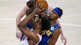 Bulls Pacers Basketball