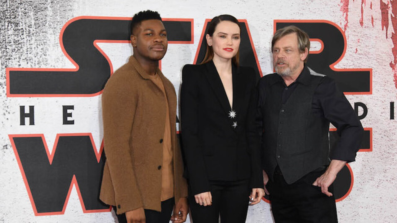 'Star Wars: The Last Jedi' has second-biggest opening ever in North America