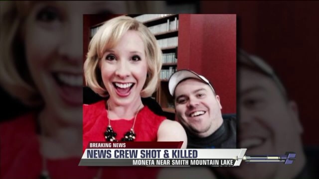 Roanoke reporter, photographer killed by former coworker during live interview