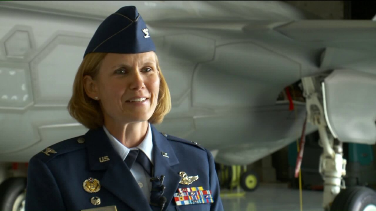 Col. Sabric becomes first woman to command Utah's 419th FighterWing