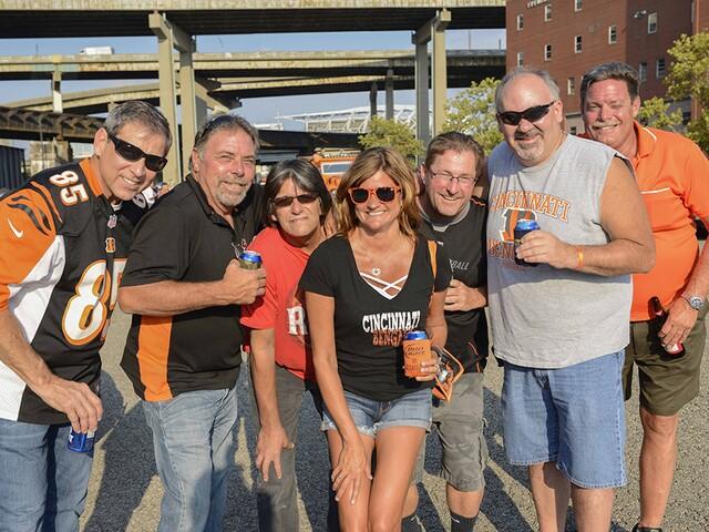 Cincinnati Bengals fans tailgate to open preseason