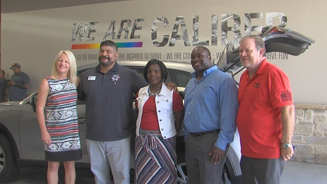 Recycled Rides program helps veteran receive new car