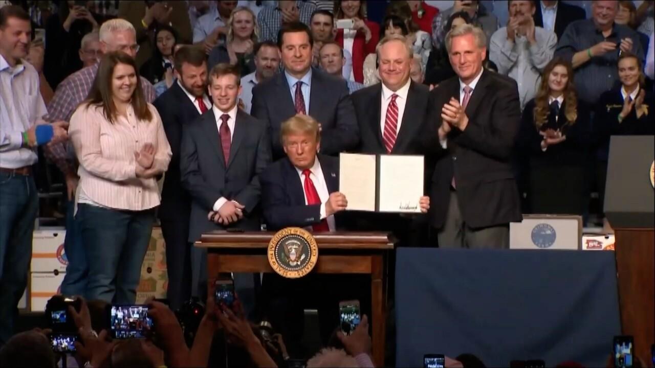 Presidential signing of Presidential Memorandum