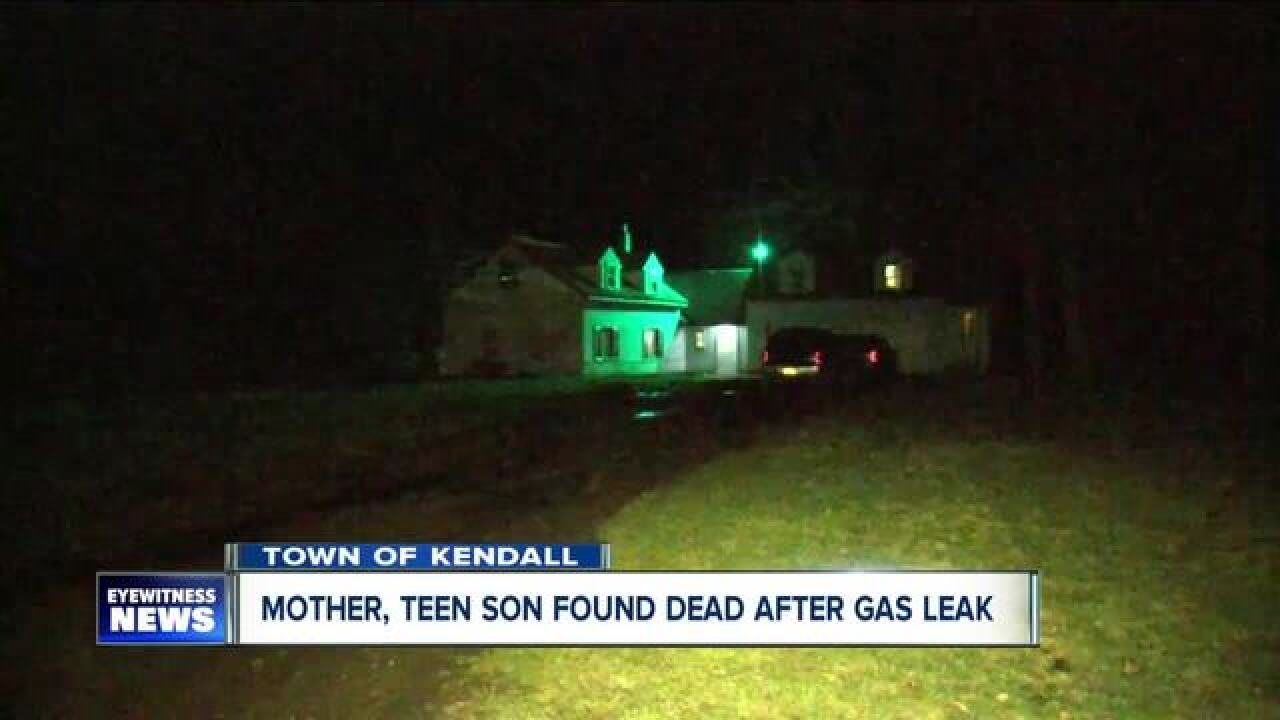 Mother, son found dead after gas leak in Kendall