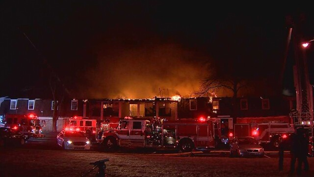 PHOTOS: Fire Breaks Out At Bellevue Apartments