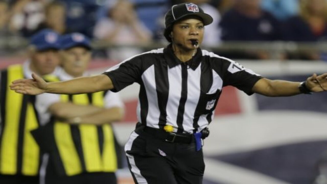 Maia Chaka Becomes NFL's First Black Female Referee