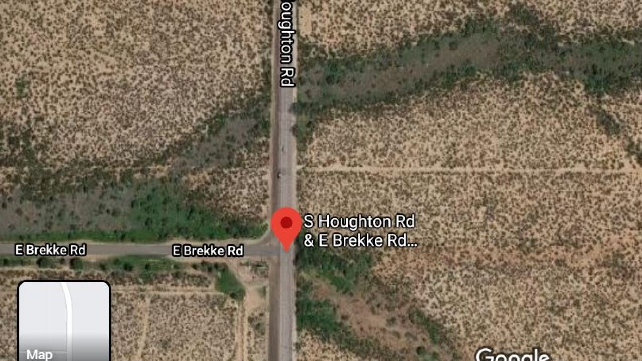 Pima County Sheriff's deputies investigated a deadly wreck on Houghton Road north of Brekke Road Sunday.