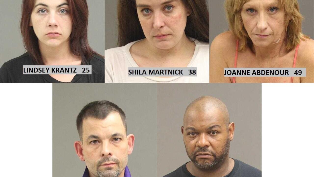 Warren police bust men & woman at alleged prostitution & drug house