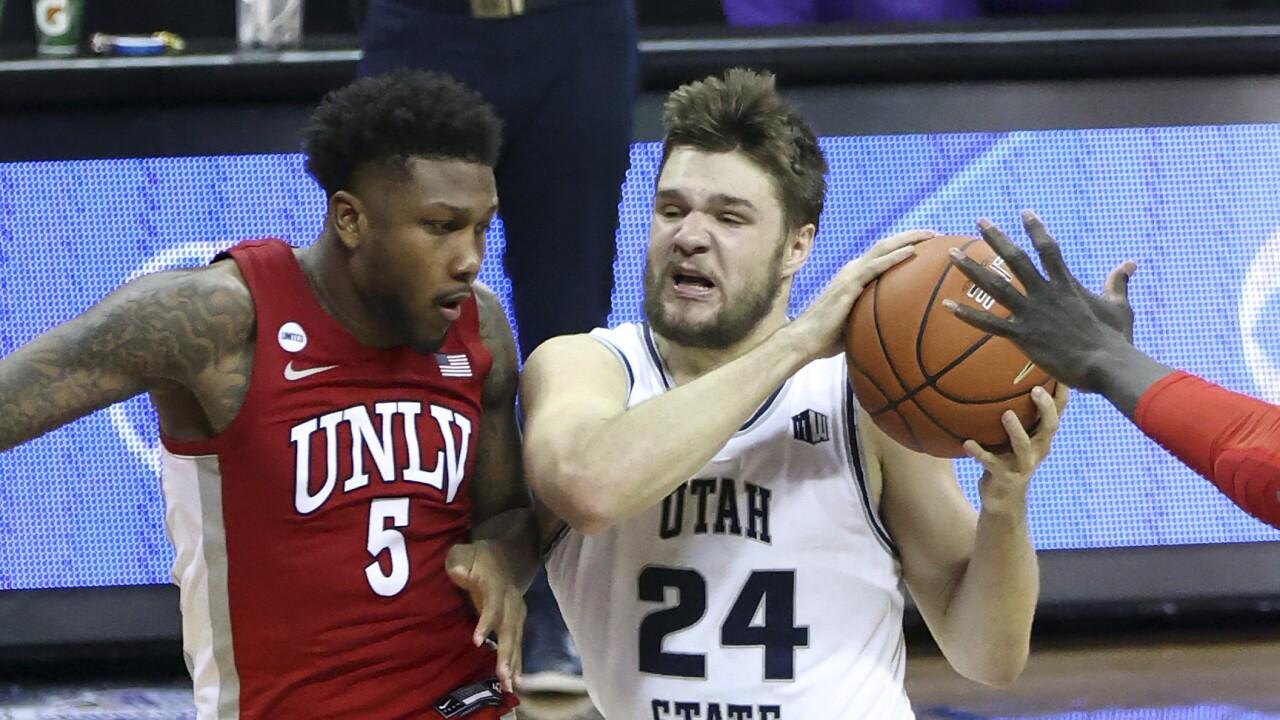 MWC UNLV Utah St Basketball