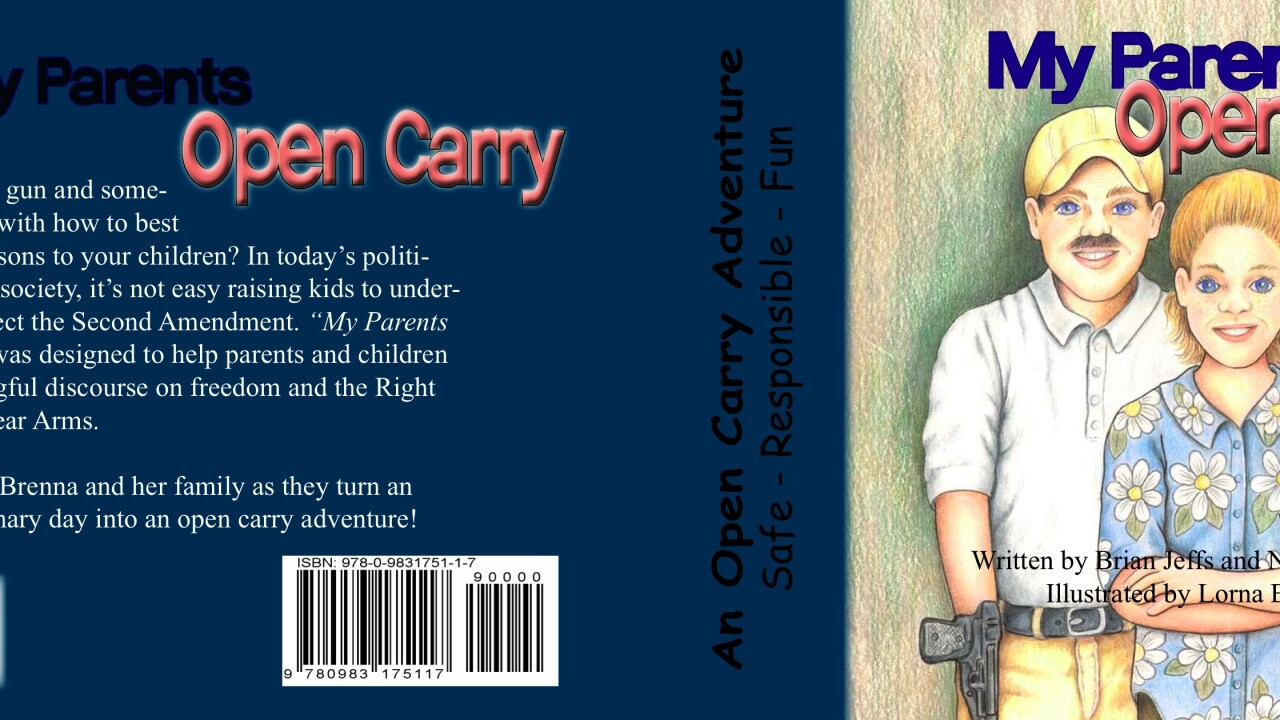 Open carry kids book becomes a hit after being mocked by Bill Maher
