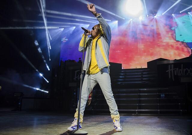 Future rocks sold-out Riverbend concert