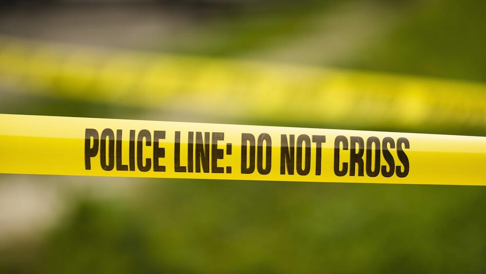 crime scene tape police line generic
