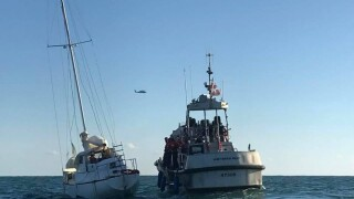Photos: Coast Guard assists boater off Hatteras Island,N.C.