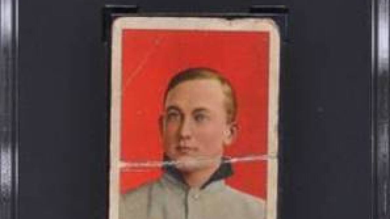 Rare Ty Cobb baseball card found by Niagara Falls collector, up for auction