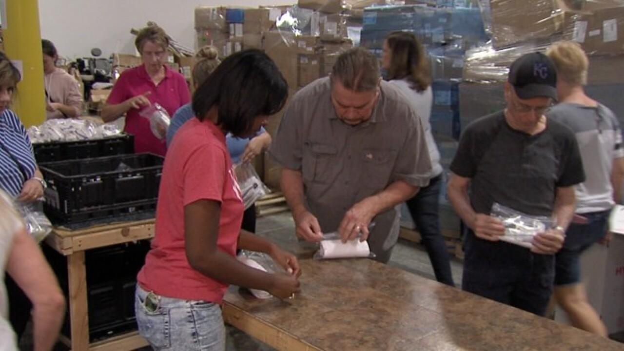 Lenexa group readies to help hurricane victims