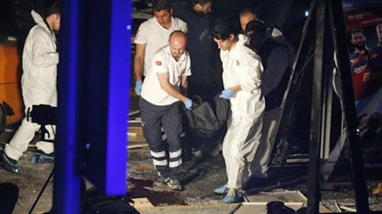 13 detained after Istanbul airport attack