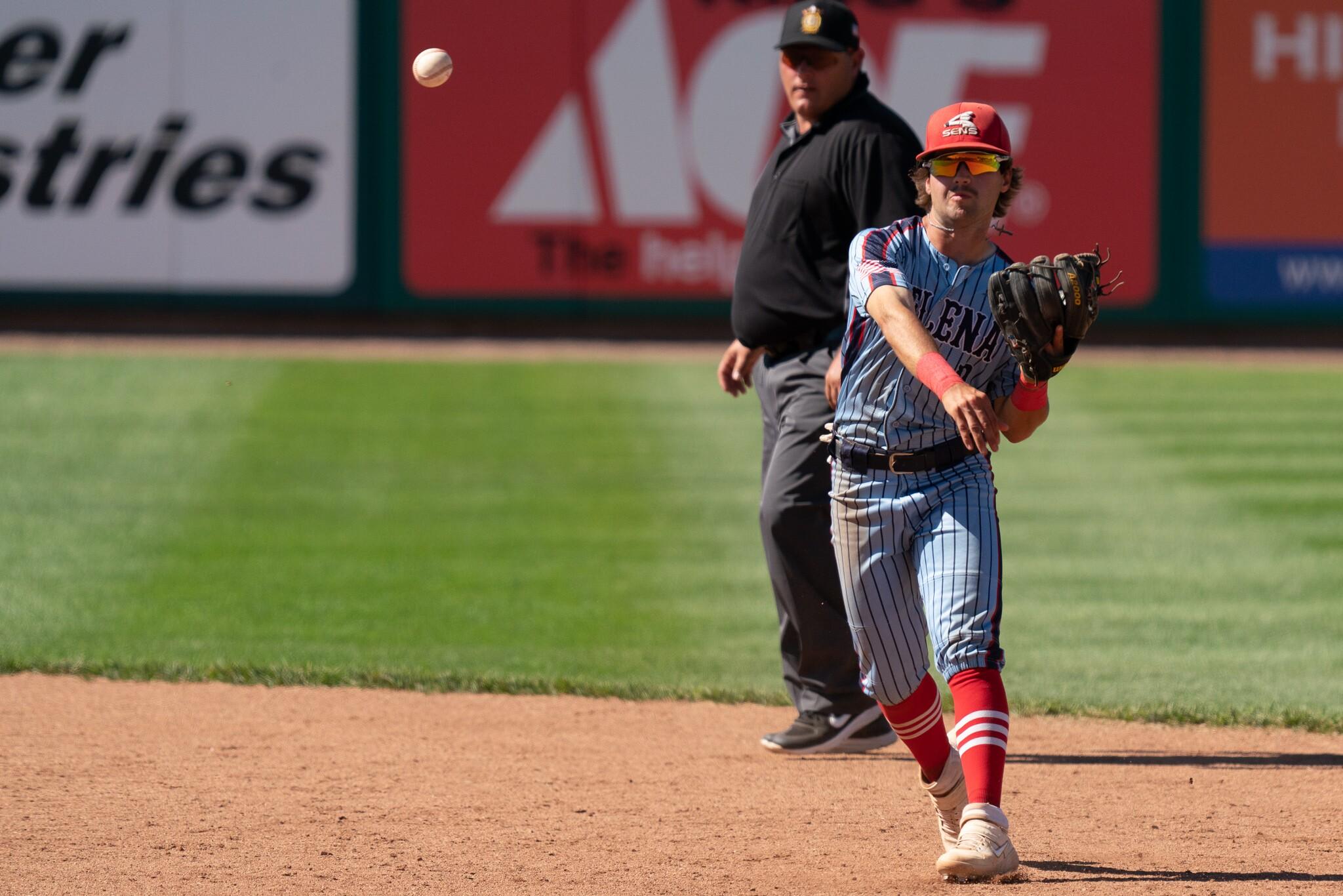 Class AA Montana Legion Baseball state championship -- Bozeman vs. Helena