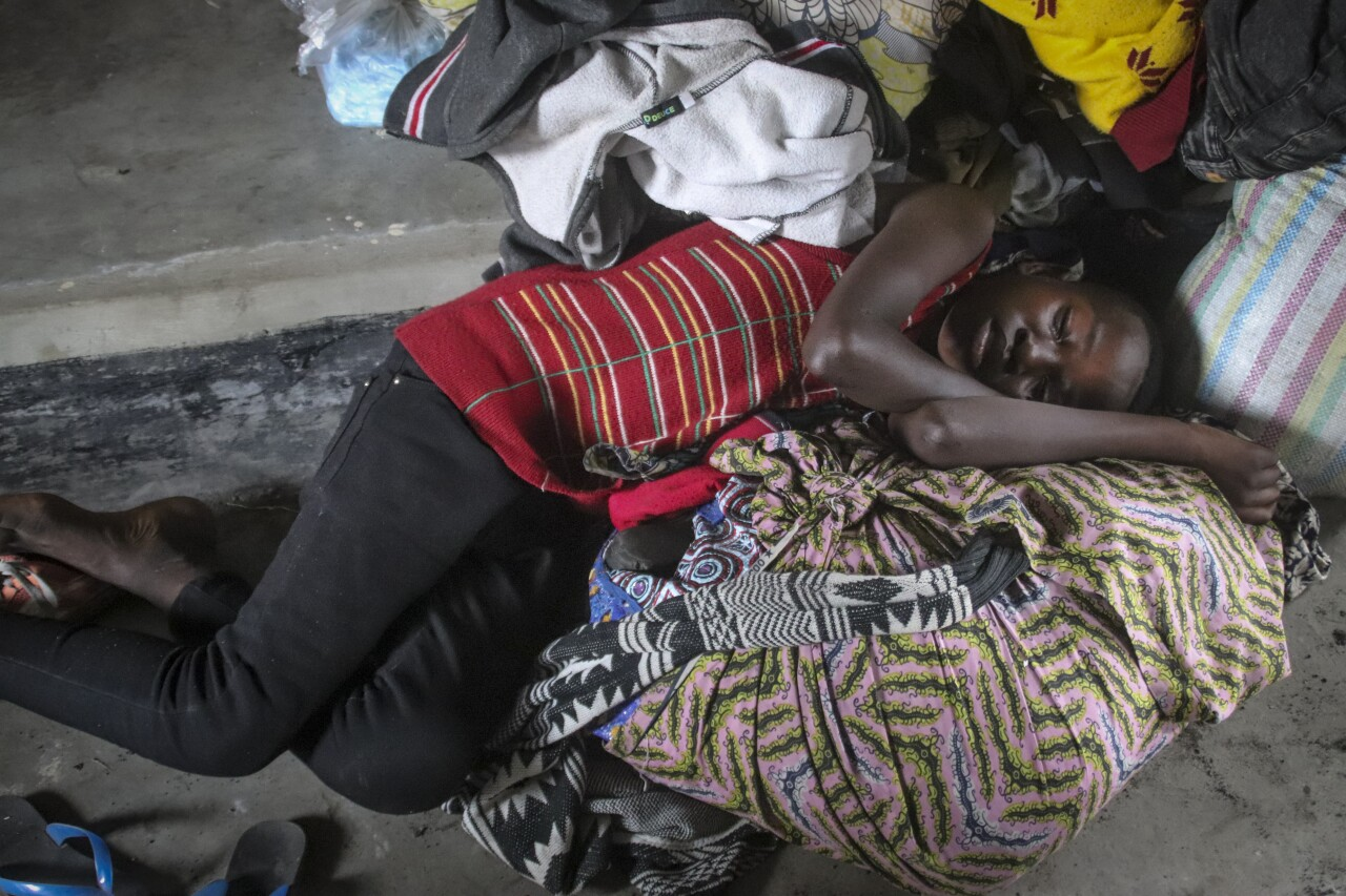 Thousands fled the city of Goma after a devastating volcanic eruption