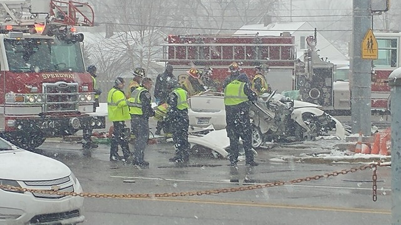Two killed in Crash in Speedway
