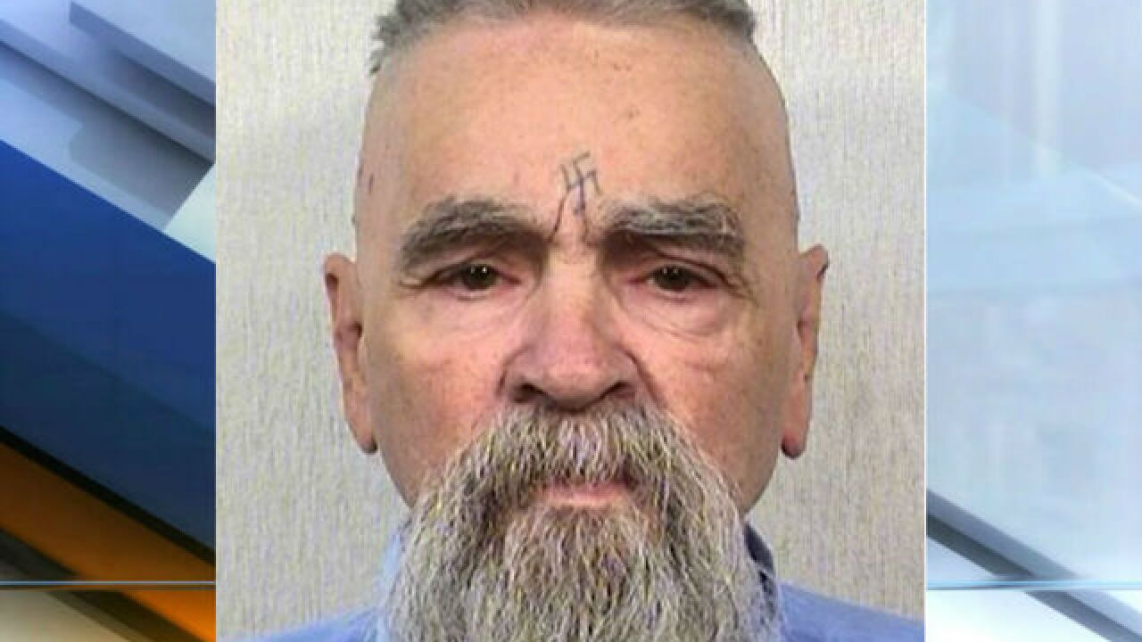 Charles Manson being treated in California hospital, according to TMZ
