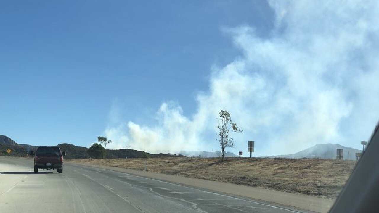 Sweetwater Fire breaks out in East County