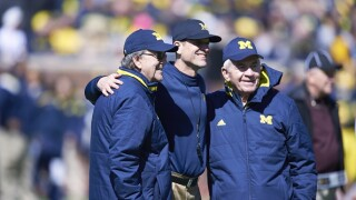 Lloyd Carr, Gary Moeller to serve as Michigan honorary captains, Jim Harbaugh says