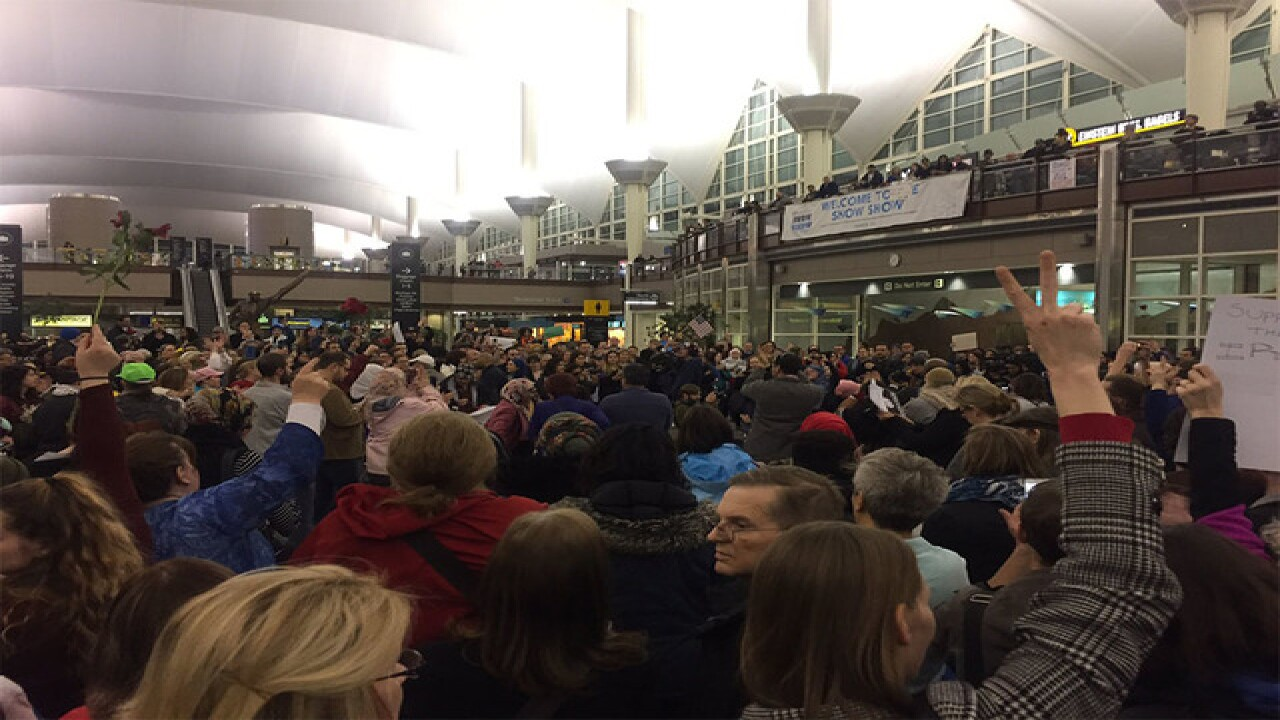 Protest planned at DIA following refugee ban