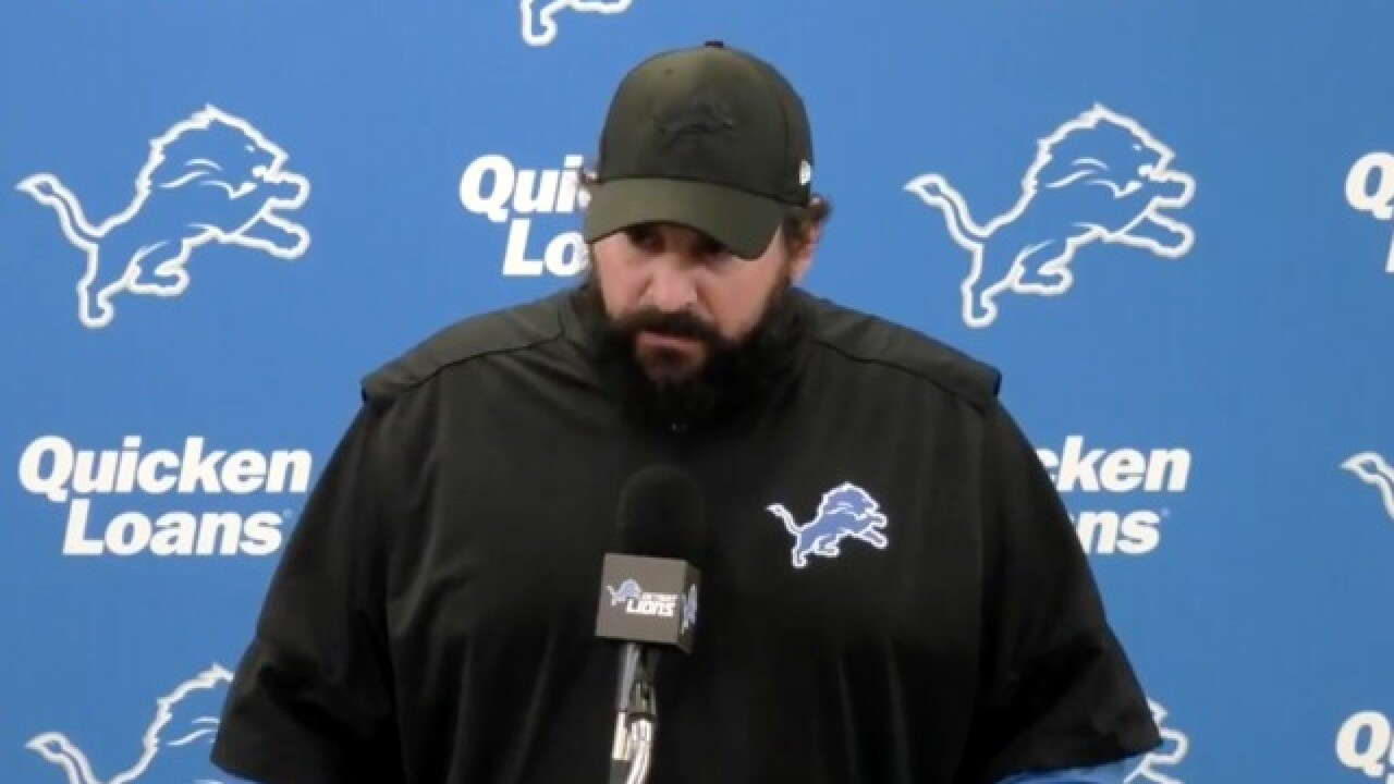 Lions coach Matt Patricia on sexual assault allegations: 'I was innocent then and I am innocent now'