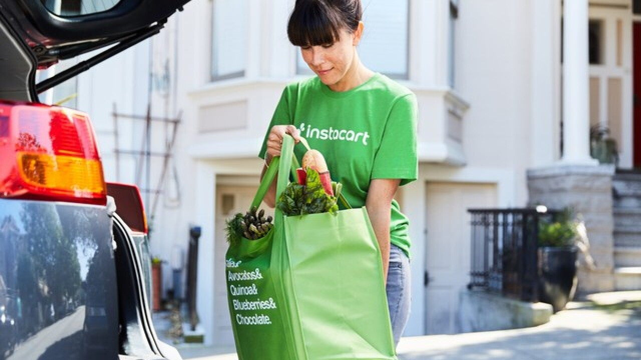 How using a grocery delivery service can save you money