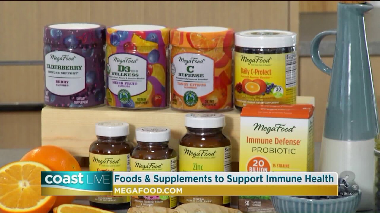 Immune health and wellness solutions on CoastLive