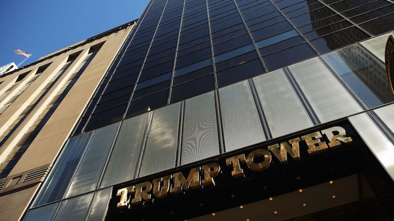 Trump Tower flight restrictions issued by FAA day after election
