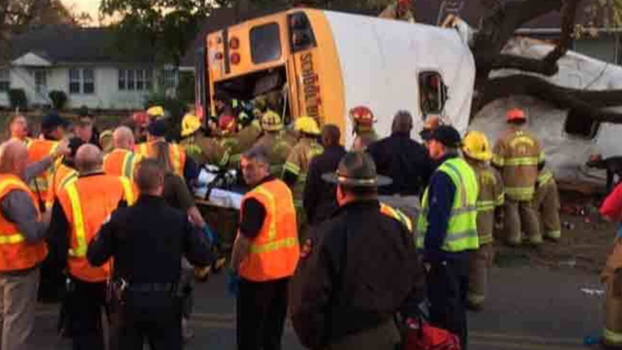 Tennessee school bus involved in fatal crash